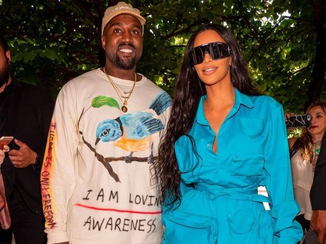 Kim Kardashian et Kanye West, bientôt parents d'un petit garçon
