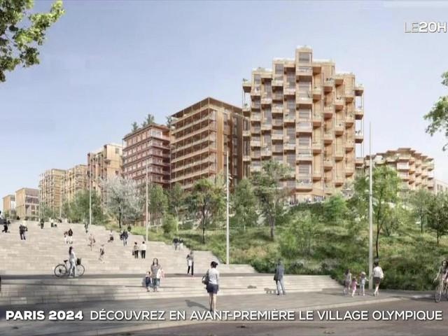 Paris 2024 : découvrez en avant-première le village olympique