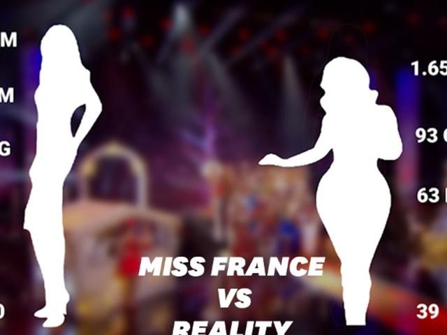 Miss France 2020: les mensurations des gagnantes vs. celles des Françaises