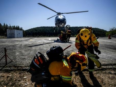 Au Portugal, l'industrie du papier s'offre ses pompiers privés