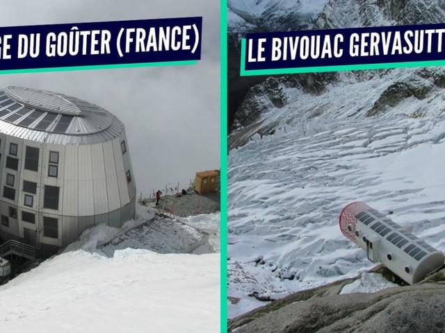 Top 10 des refuges insolites de haute montagne où passer la nuit