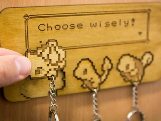 [TOPITRUC] Un porte-clés mural Pokémon, fais le bon choix