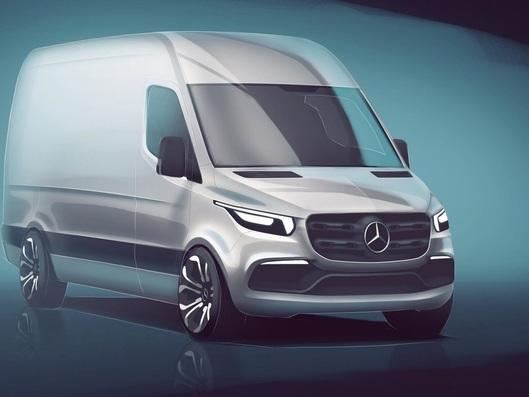 Mercedes dévoile un teaser du nouveau Sprinter