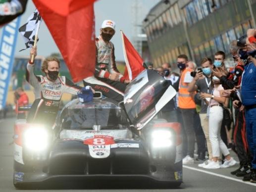 Troisième victoire consécutive pour Toyota aux 24 heures du Mans