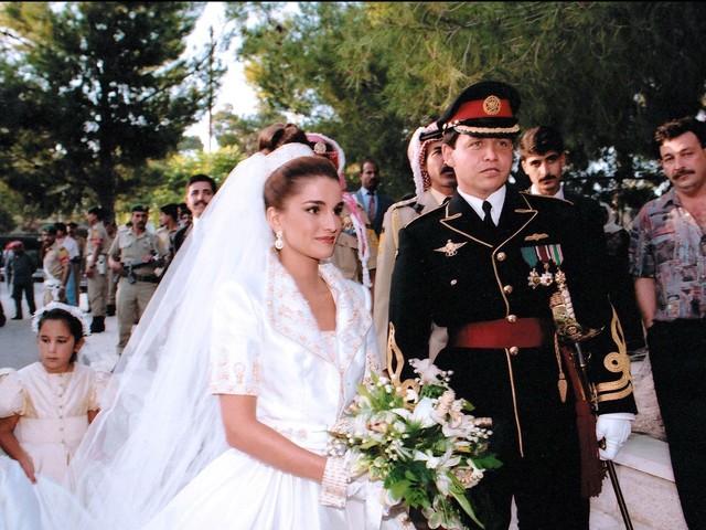 Mariage royal : Abdallah et Rania de Jordanie, reine malgré elle