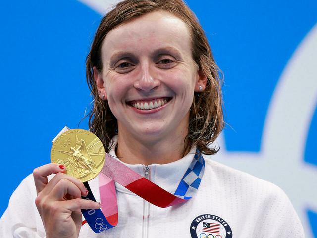 JO-2020: battue sur 200 et 400 m, Ledecky se console sur 1.500 m