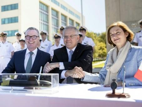 Australie et France signent leur colossal contrat pour 12 sous-marins
