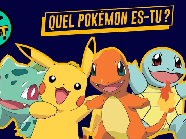 Test : Quel Pokemon es-tu ?