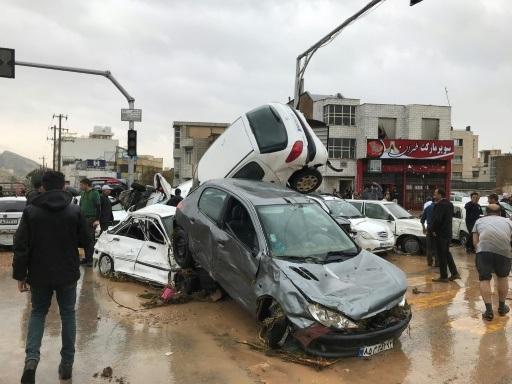 En Iran, des inondations d'une rare ampleur font au moins 18 morts