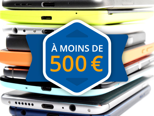 Les meilleurs smartphones à moins de 500 euros (2019)