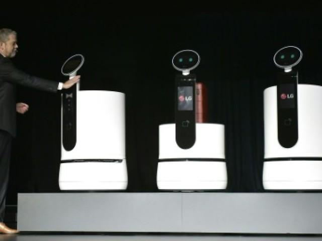 CES: LG rate son entrée à cause d'un robot récalcitrant