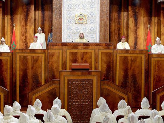 Texte intégral du Discours Royal à l'occasion de l'ouverture de la session d'automne du parlement