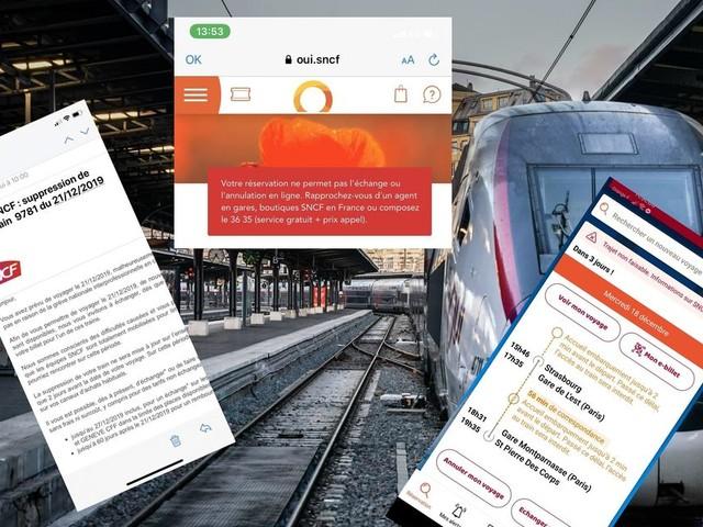 Grève à Noël: les mails et SMS de la SNCF rendent fous les voyageurs
