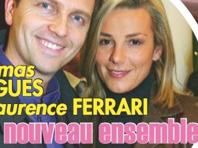 Laurence Ferrari et Thomas Hugues, à nouveau ensemble
