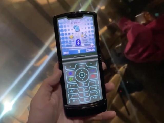 Le Motorola Razr pliable a un mode «rétro» secret pour ressembler à celui des années 2000