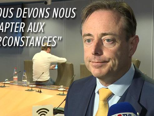 """Bart De Wever s'explique sur les choix de la N-VA: """"Une coalition avec le Vlaams Belang est impossible"""""""