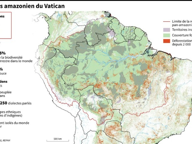 Amazonie: le cri des indigènes chez le pape François