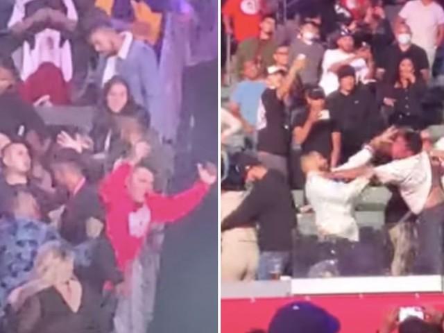 Boxe : bagarre générale en tribune après le combat entre Ruiz et Arreola [Vidéo]