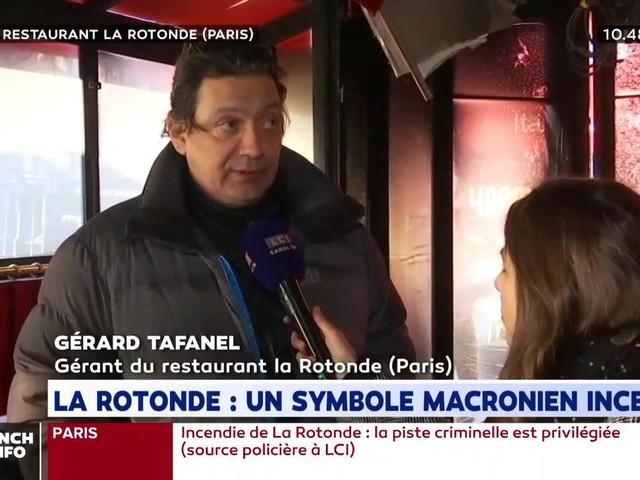 """La Rotonde incendiée : """"Nous avions reçu de nombreuses menaces"""""""