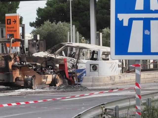 Saccage du péage de Narbonne : prison ferme pour 21 des 31 prévenus
