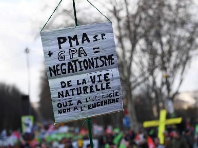 Loi bioéthique: avant son examen au Sénat, les anti-PMA redescendent dans la rue