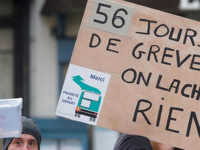 Contre la réforme des retraites, une nouvelle journée de mobilisation prévue le 6 février