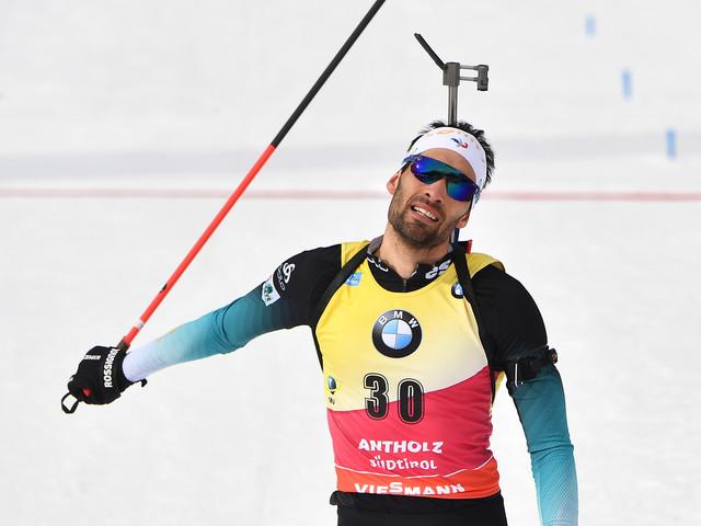 Biathlon: Fourcade remporte un 11e titre mondial individuel et égale le record de Bjoerndalen