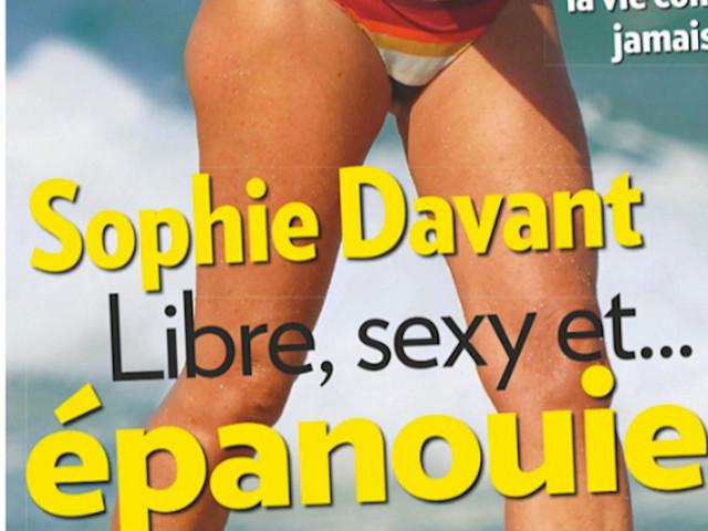 Sophie Davant célibataire, libre et épanouie à Saint-Tropez (photo)