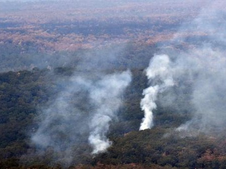 Les feux en Australie alimentent la montée du CO2 dans l'atmosphère
