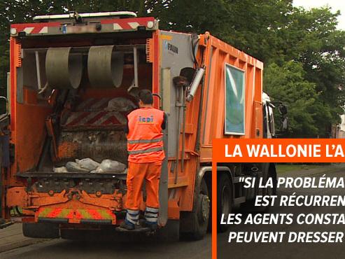 """Cartons, verres et déchets ménagers mélangés dans le même camion-poubelle à Gerpinnes: """"Dois-je continuer à faire mon tri sélectif ?"""""""