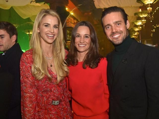 Pippa Middleton en soirée avec son scandaleux beau-frère Spencer Matthews