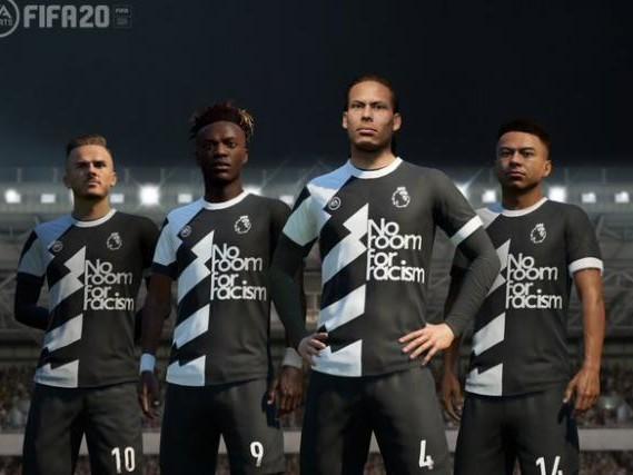 esport - Un maillot de soutien à la lutte contre le racisme dans FIFA 20