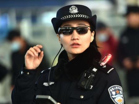 La Police chinoise reçoit des lunettes avec reconnaissance faciale
