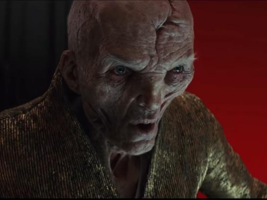 Star Wars 9 The Rise of Skywalker : une révélation sur Snoke ?