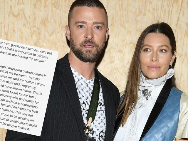 Justin Timberlake répond aux accusations d'infidélité et s'excuse auprès de Jessica Biel