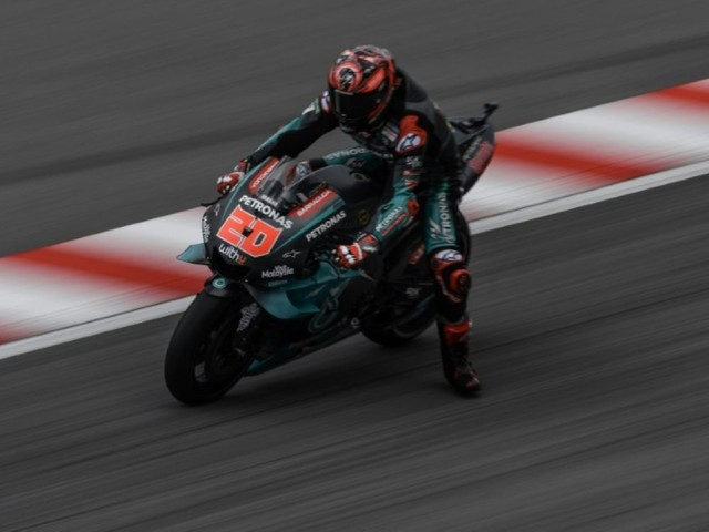 MotoGP: 5e pole de la saison pour Quartararo (Yamaha-SRT) en Malaisie