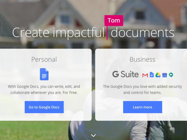 Google Docs peut prédire ce que vous allez écrire