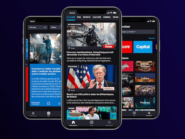 """""""Il fallait un Spotify pour les articles de presse"""" : Pressmium, l'appli française qui veut contrer Google et Apple News"""