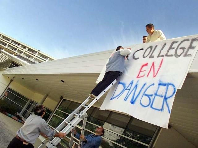 """Gironde : une journée """"collèges morts"""" annoncée ce jeudi"""