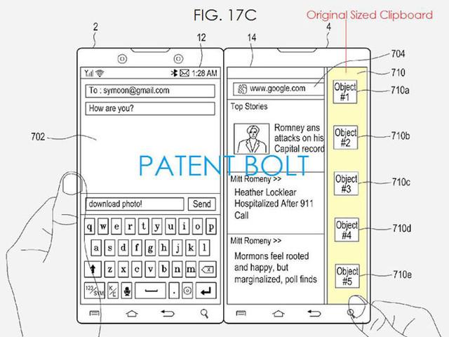 Samsung : bientôt un smartphone à double écran comme le Surface Duo ?
