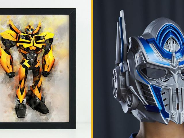 Top 30+ des cadeaux pour les fans de Transformers