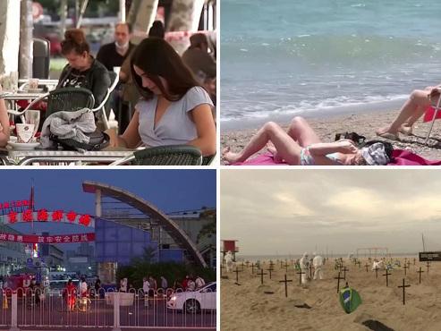 Juin 2020: l'Europe se déconfine, les bars et restaurants rouvrent, résurgence du virus en Chine