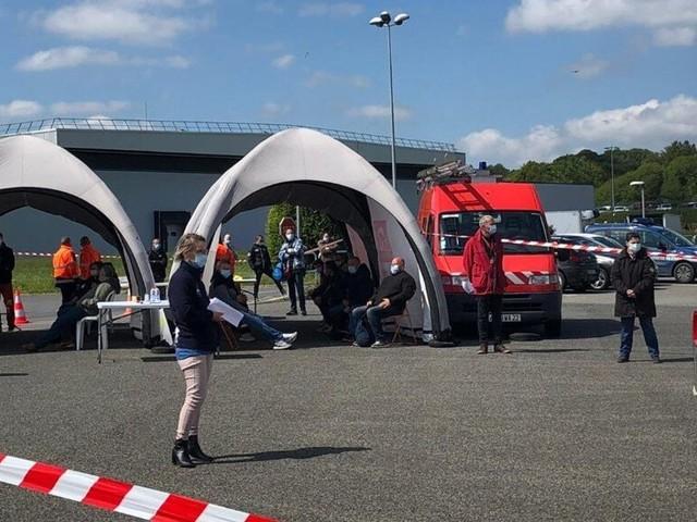 En Bretagne, dépistage massif du coronavirus dans un abattoir