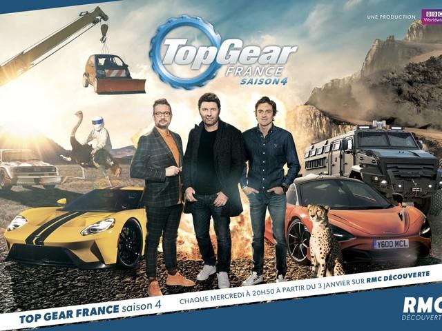 Les invités des 8 numéros inédits de Top Gear France sur RMC Découverte.