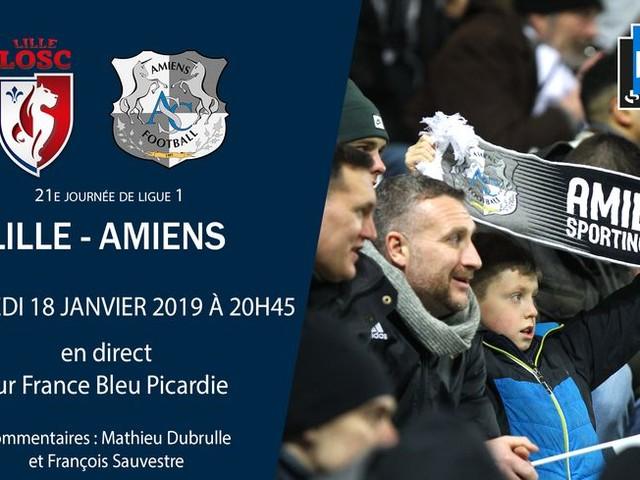 Ligue 1 - direct : suivez le match de la 21e journée entre Lille et Amiens