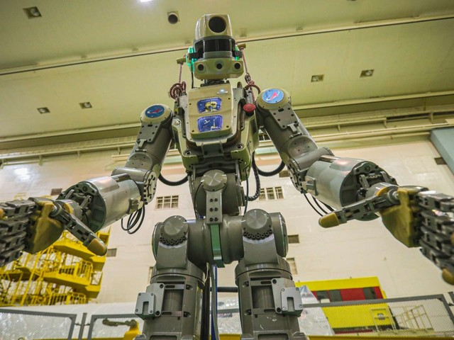 Le surprenant robot humanoïde Fedor va rejoindre la Station spatiale internationale
