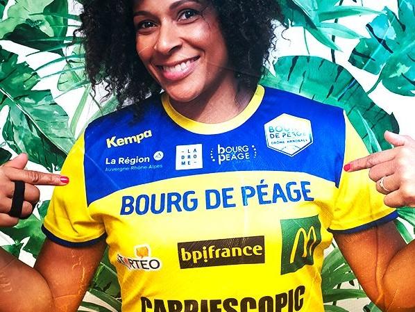 Une médaillée olympique arrive au Bourg-de-Péage Drôme Handball