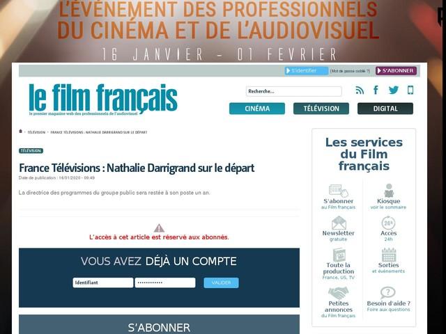 France Télévisions : Nathalie Darrigrand sur le départ