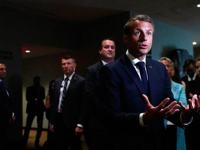 Macron entretient le suspense autour d'une rencontre Trump-Rohani à l'ONU