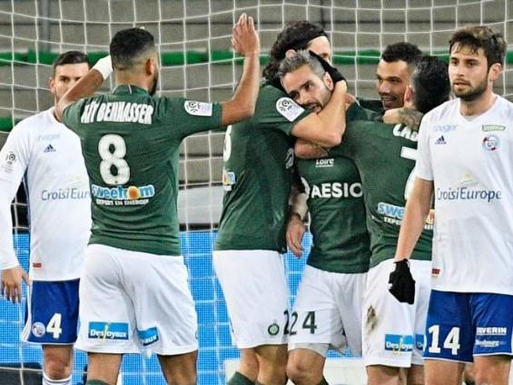 L1 : Saint-Etienne repart de l'avant en battant Strasbourg